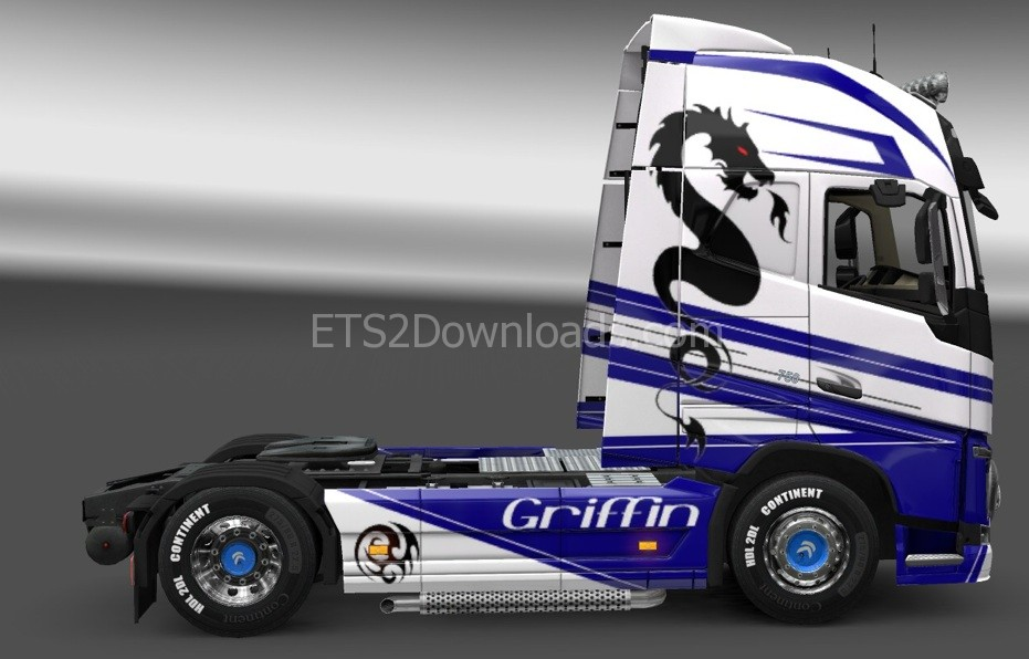 griffin-skin-for-volvo-2012-ets2-1