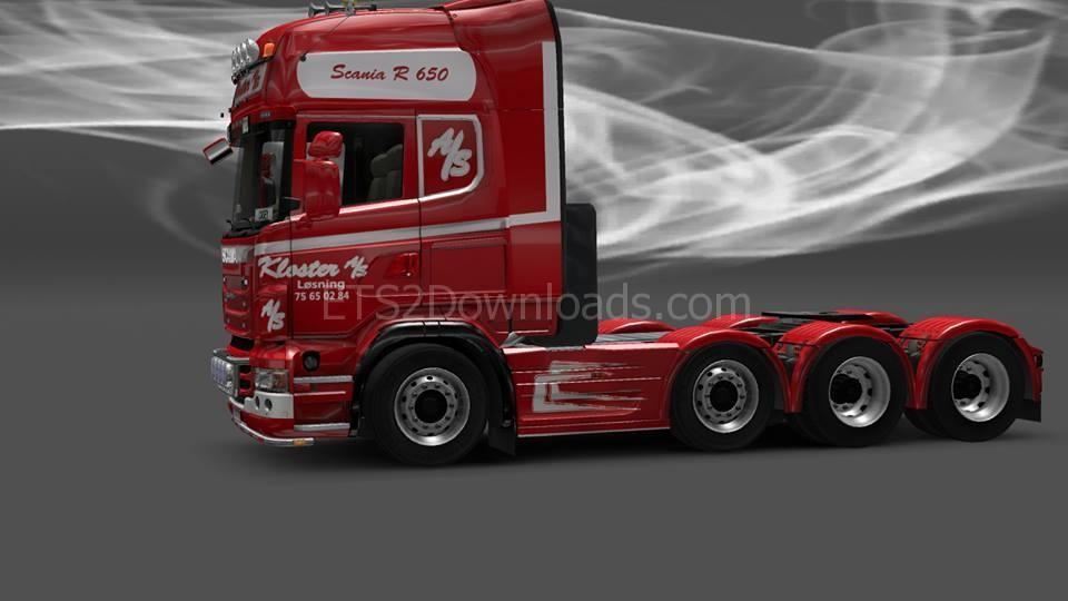 Kloster As Denmark Skin For Scania Ets2 2 Ets2 Mods
