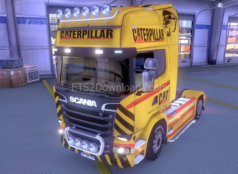 new-cat-skin-for-scania-ets2-1