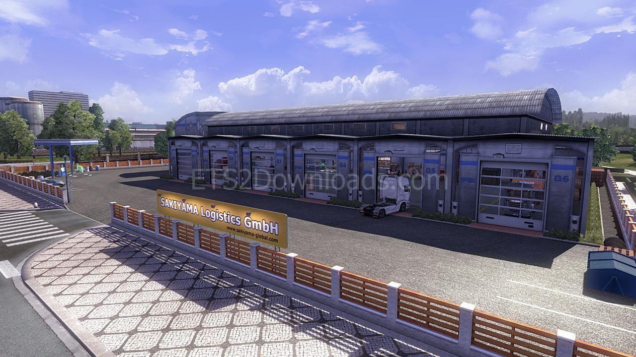 Awesome Euro Truck Simulator 2 Blog Custom Large Garage