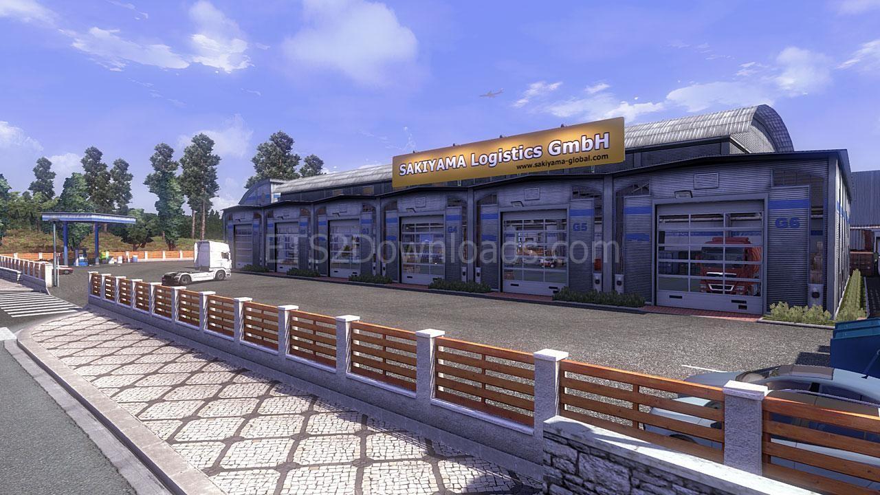 Custom Large Garage