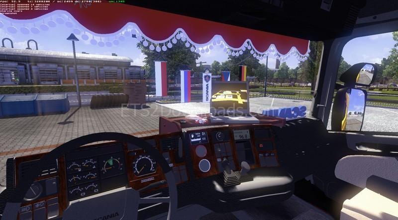 Volvo Truck Dealer >> Scania 4 Series (Update v1.2) - Euro Truck Simulator 2 Mods