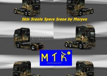 space-scene-skin-for-scania-ets2