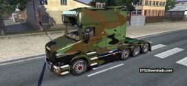 V8 Sound Mod for Scania T