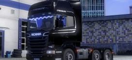 Stock Engine Sound for Scania V8 v1.1