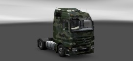 Army Skin for Mercedes-Benz Actros