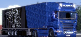 Blue Skin Pack for Scania