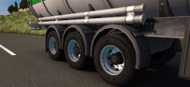 Double Wheels for Trailer