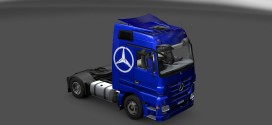 Metallic Skin for Mercedes-Benz Actros