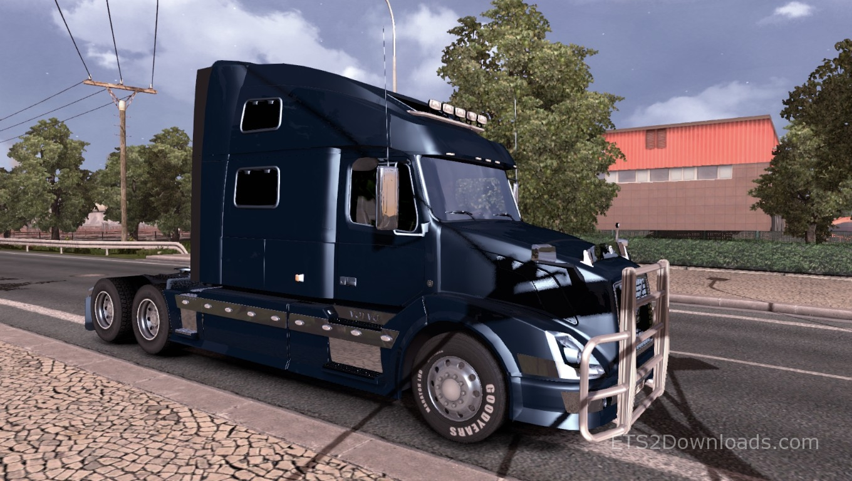 Reworked Volvo Vnl 780 V3 0 Euro Truck Simulator 2 Mods