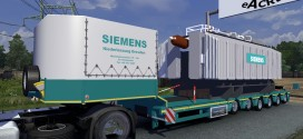 Siemens Transformer Trailer