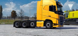 8×4 Chassis for Volvo FH16 2012