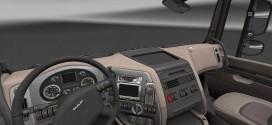 Chrome Dashboard for DAF Euro 6