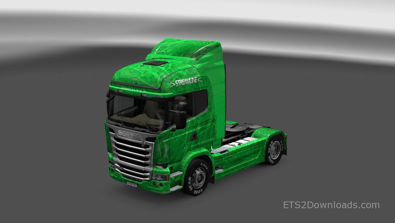 green-streamline-skin