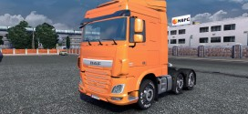 Painted Grill for DAF Euro 6