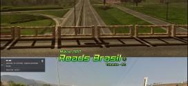 Roads Brasil Map