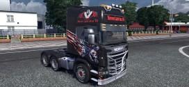 Skull Piston Skin for Scania