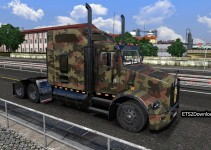 army-skin-2-for-kenworth-t800