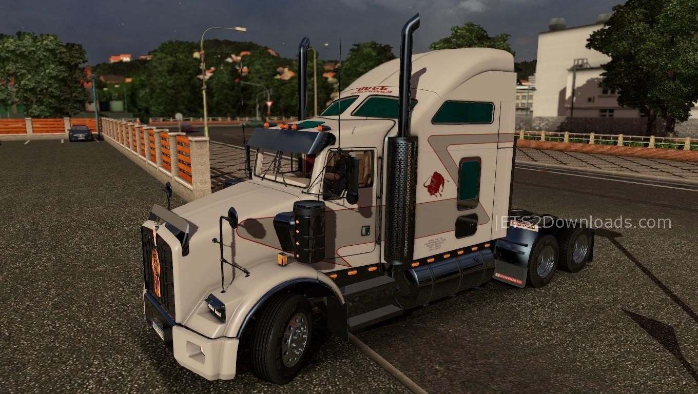 bull-trucking-skin-for-kenworth-t800