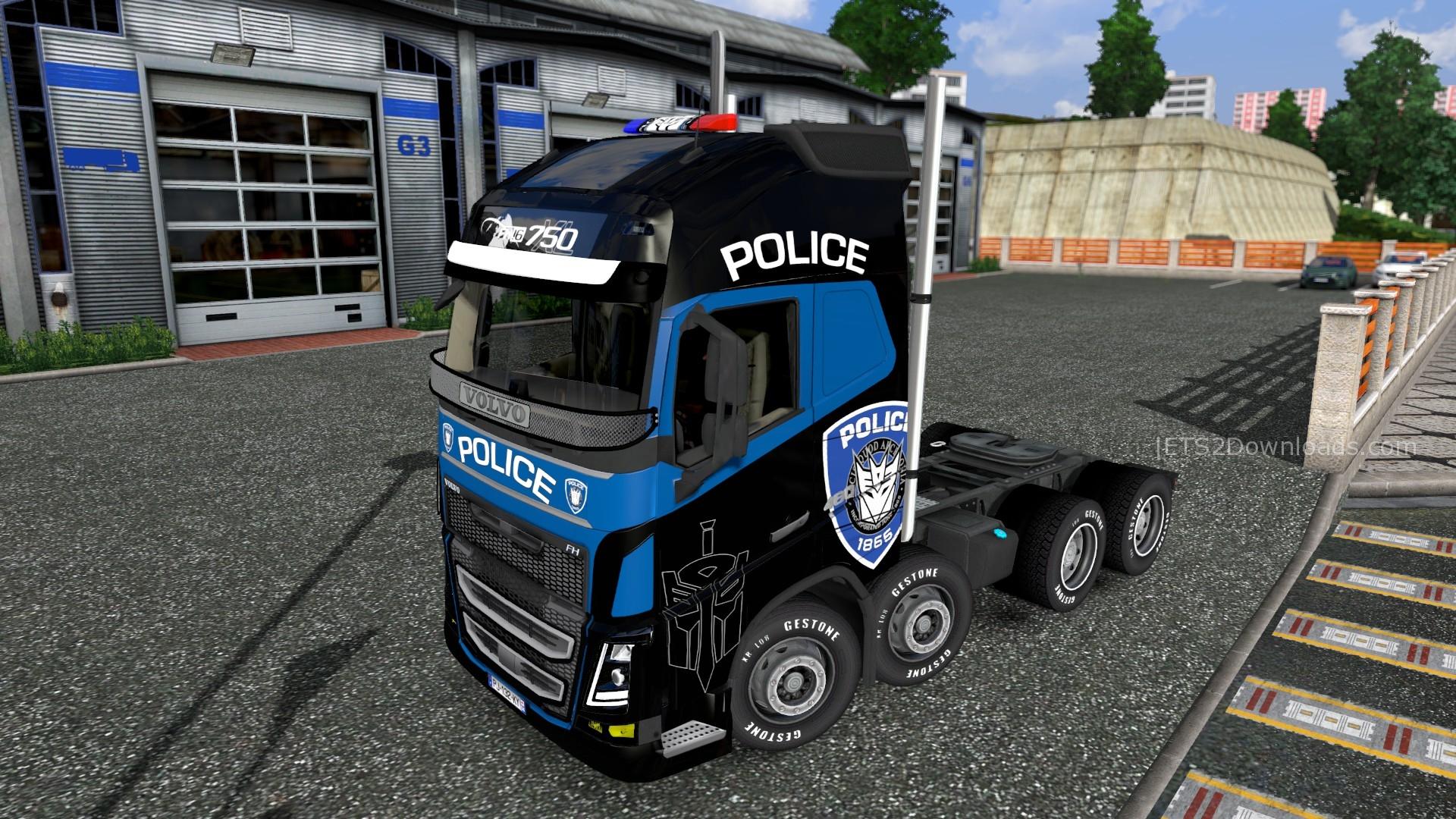 police-skin-for-volvo-fh-2013