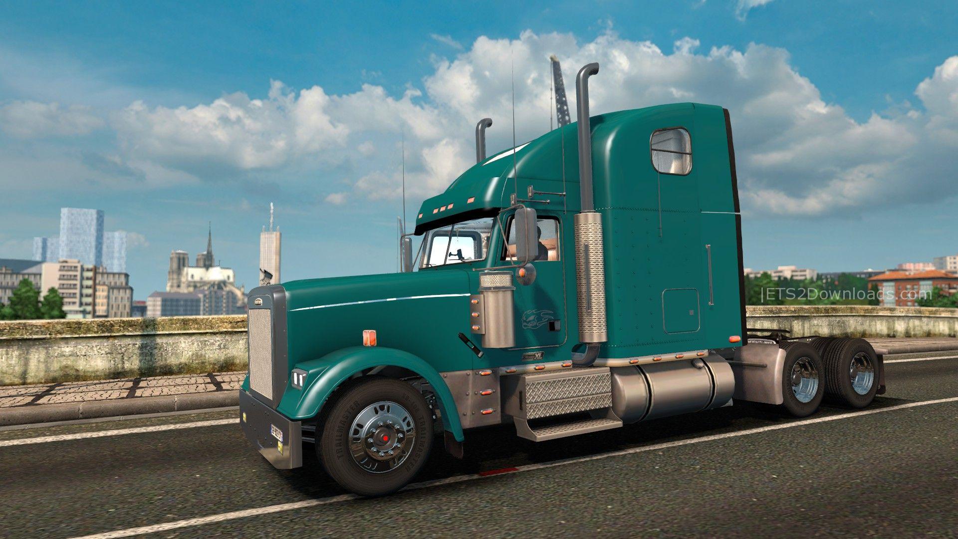 Freightliner Classic Fld120 Euro Truck Simulator 2 Mods