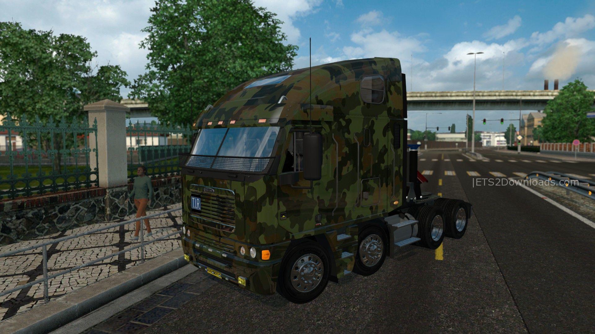 army-skin-for-freightliner-argosy