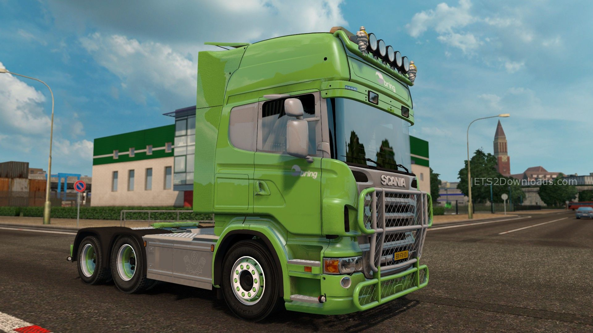 scania bring v8 v2 0 euro truck simulator 2 mods. Black Bedroom Furniture Sets. Home Design Ideas