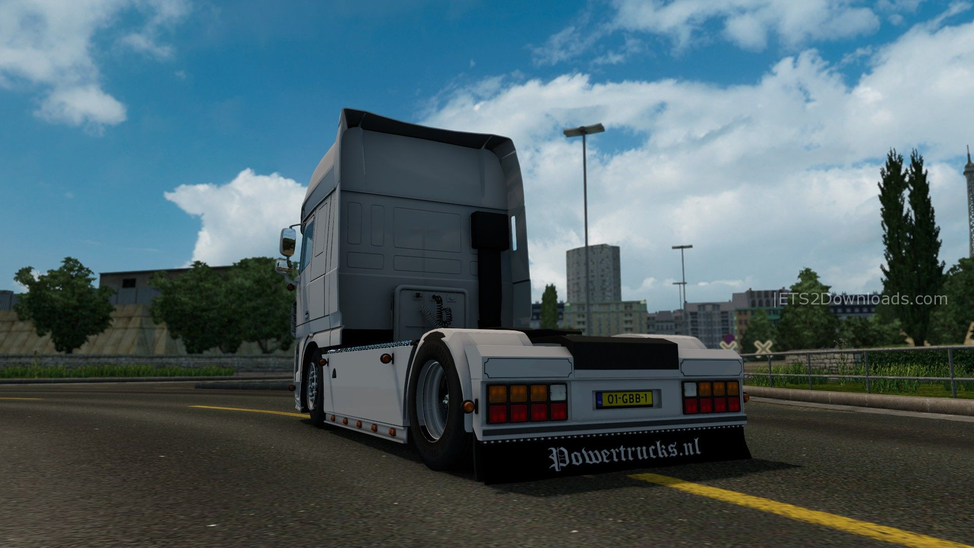 daf xf 105 nordic trans ab edition euro truck. Black Bedroom Furniture Sets. Home Design Ideas