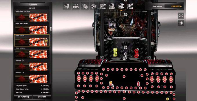 скачать мод на игру Euro Truck Simulator 2 на тюнинг - фото 10