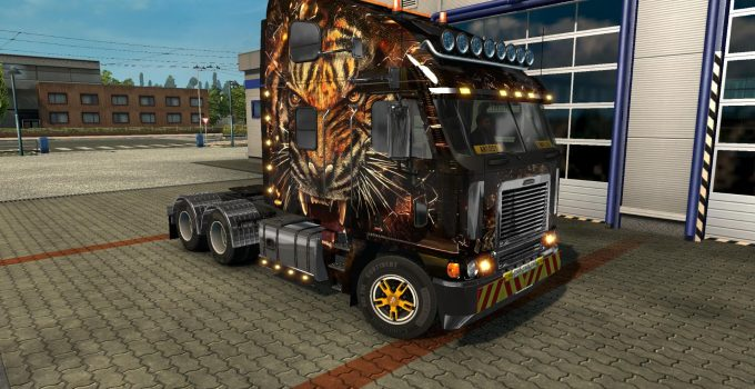 Freightliner - Euro Truck Simulator 2 Mods | ETS2Downloads Freightliner Argosy Galvatron