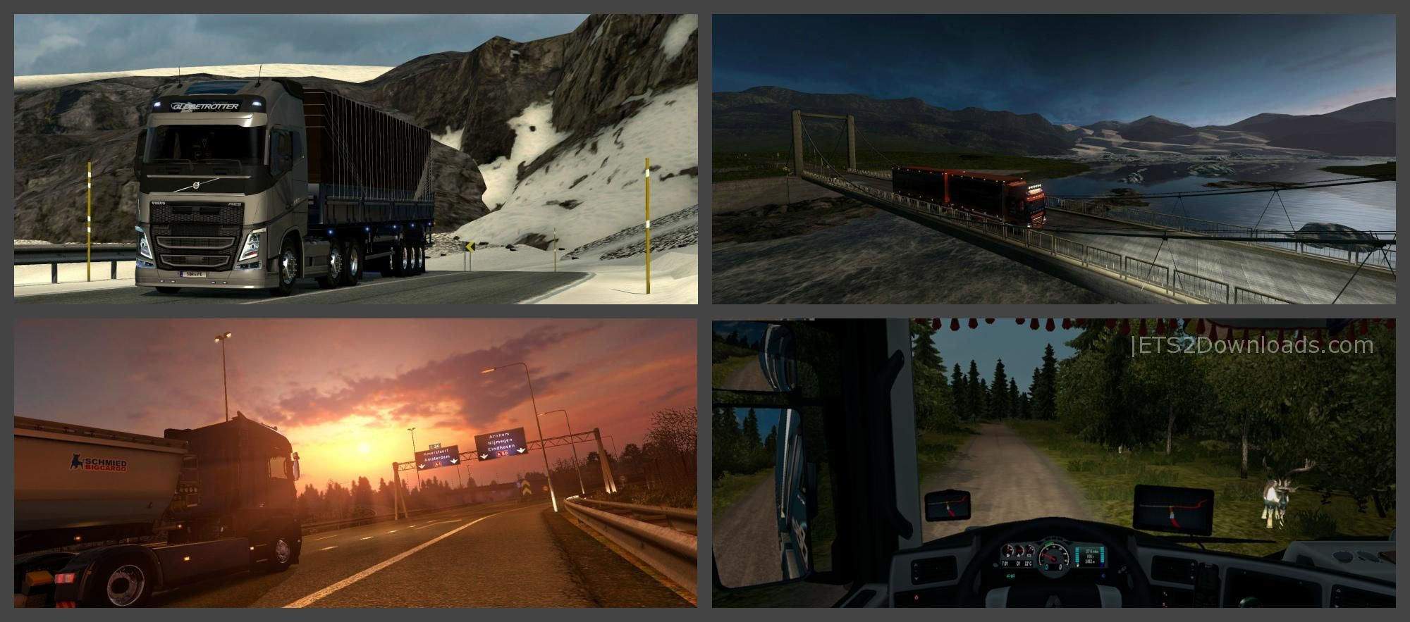 ProMods RusMap Road Connection Patch Update ETS - R us map