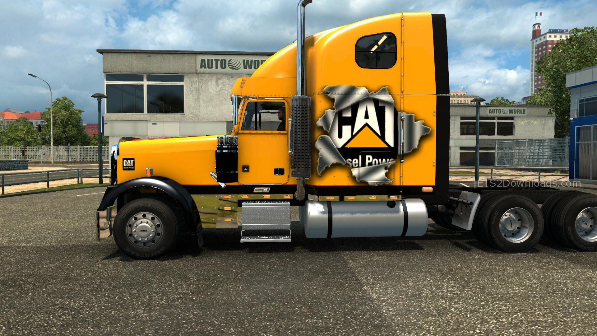 Freightliner Classic Xl V3 1 24 Ets 2 Mods Ets2downloads