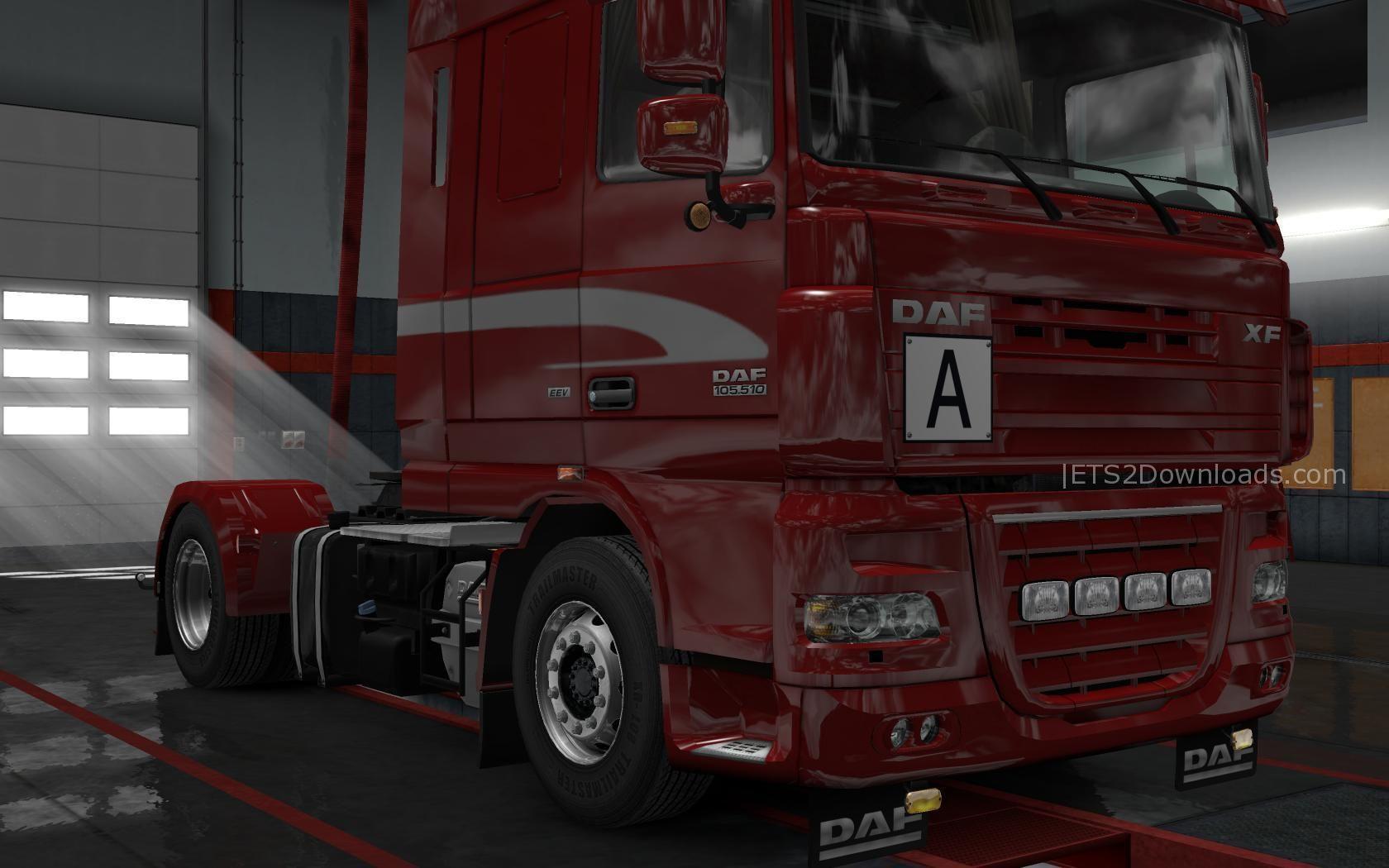 Daf Xf 105 By Vad Amp K V5 3 Ets 2 Mods Ets2downloads