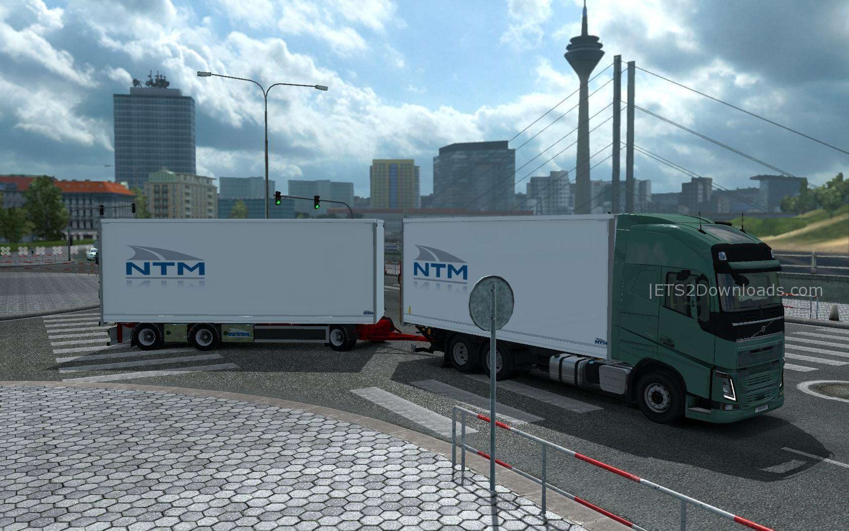kraker ntm tandem addon for volvo fh16 2012 euro truck. Black Bedroom Furniture Sets. Home Design Ideas