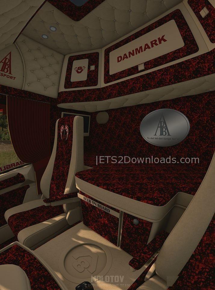Scania 164g 580 P Bjarne Andersen V1 0 Ets 2 Mods