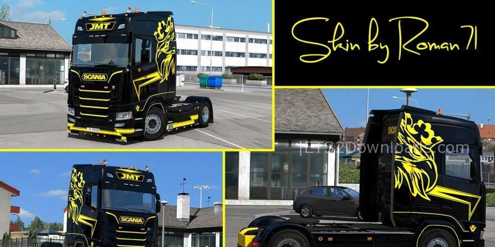 Scania New Generation S Jmt Skin V1 0 Ets 2 Mods
