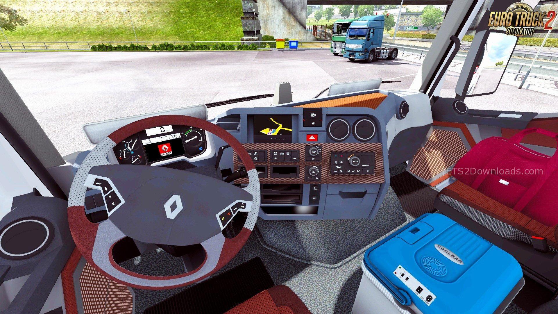 renault range t interior v70 ets 2 mods ets2downloads
