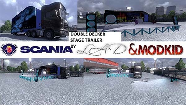 Double-Decker-Stage-Trailer-euro-truck-simulator-2