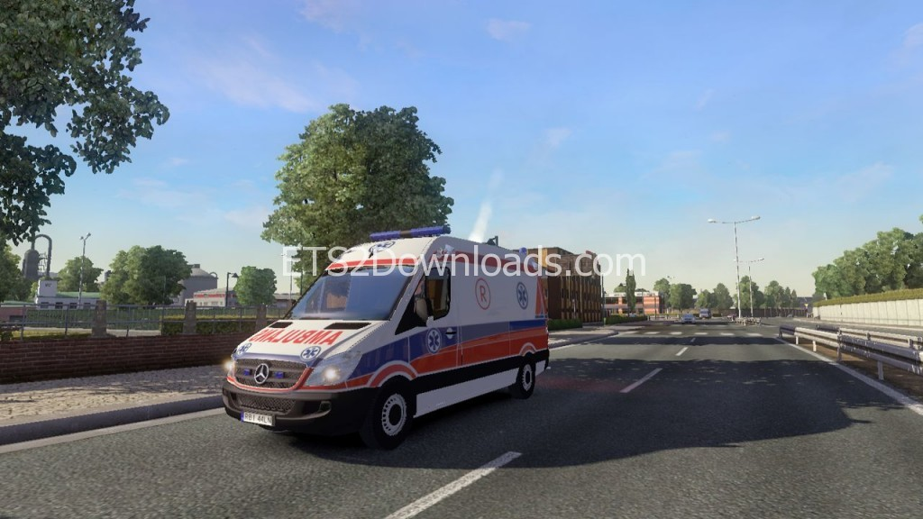Mercedes-Sprinter-2nd-Generation-Polish-Ambulance-ETS2-1