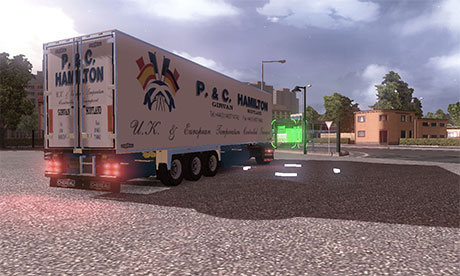 P&C Hamilton Chereau Trailer