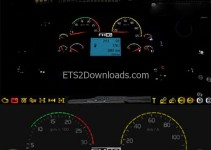 Volvo-FH16-Real-Dashboard-ETS2