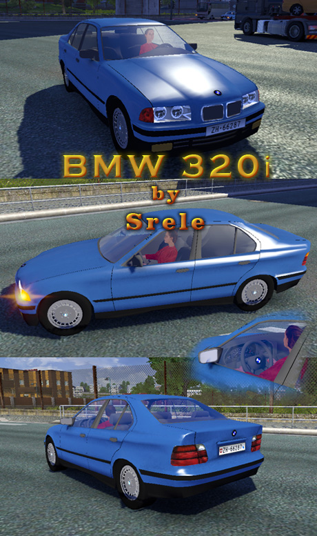 free download ets2 mods bmw 320i standalone. Black Bedroom Furniture Sets. Home Design Ideas