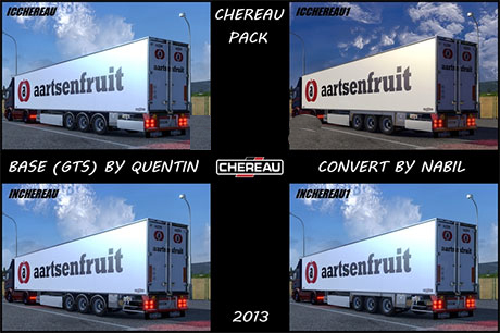 Chereau Technogam Trailer