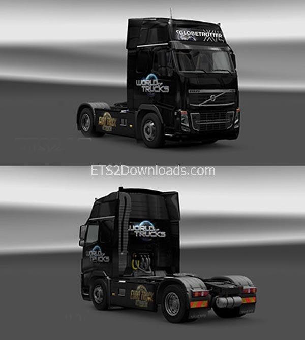 World of Trucks Skin for Volvo