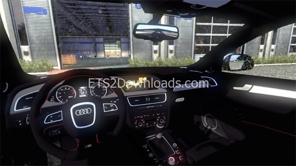audi s4 interior ets 2 mods ets2downloads. Black Bedroom Furniture Sets. Home Design Ideas