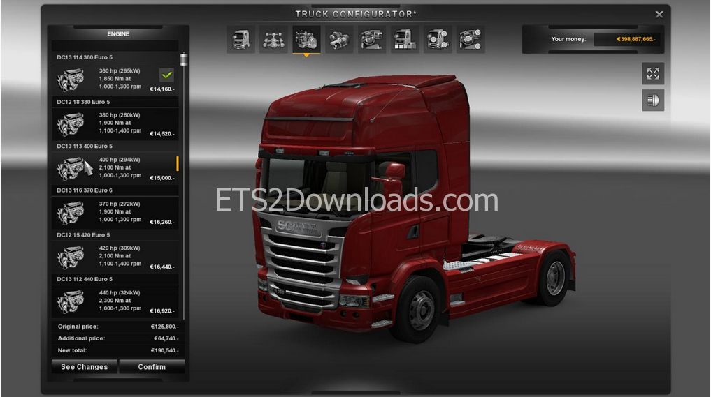 engine-transmission-for-scania-streamline