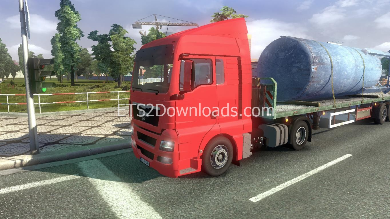 man tgx xlx pack euro truck simulator 2 spot. Black Bedroom Furniture Sets. Home Design Ideas