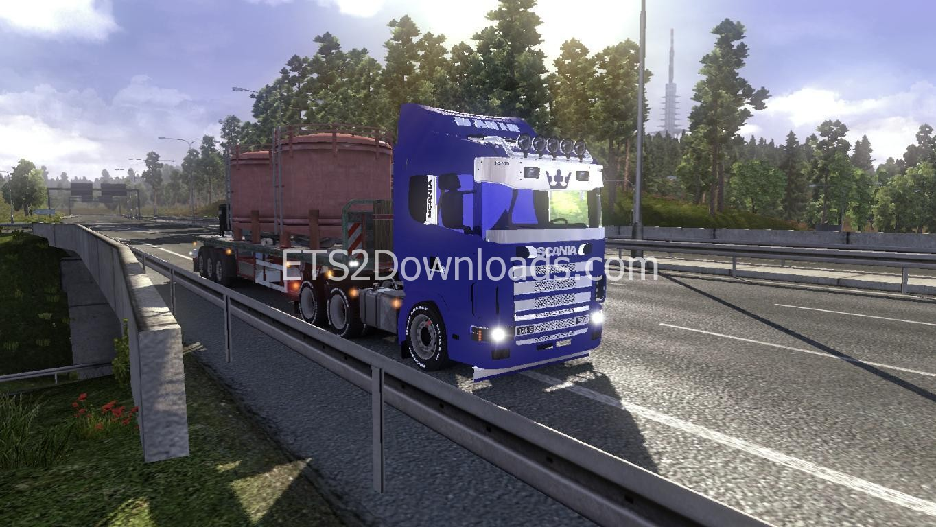 mod scania 124g ets2 cheats