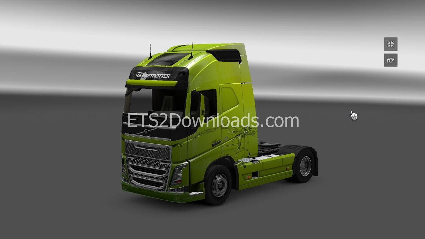 aqua-green-skin-for-volvo-fh-2013