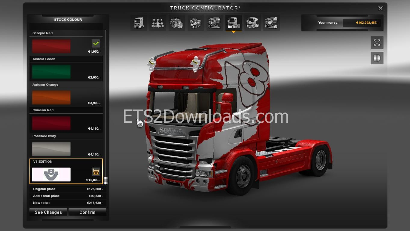 Tuning Pack for Scania Streamline